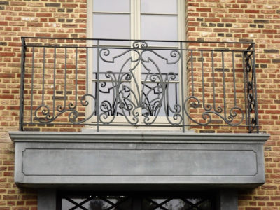 staal, stalen, stalen balustrade, stalen leuning, balustrade, leuning