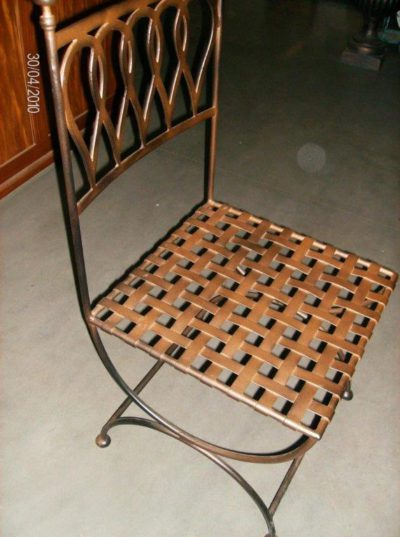 staal, smeedijzer, tuinsmeedwerk, smeedijzeren tafel, smeedijzeren stoel